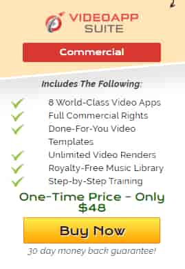 Video App suite, there is many option if you purchase it in only one time price $48
