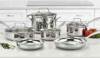 top rated stainless steel cookware