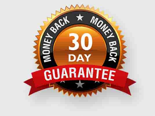 give you 30 day money back guarantee.