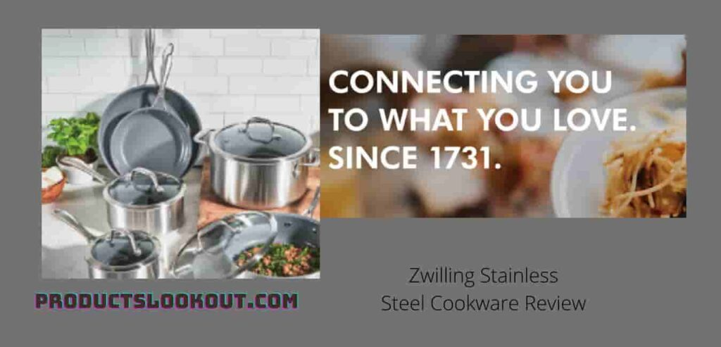 Zwilling Stainless Steel Cookware Review  which shows you about the Zwilling cookware company since 1731