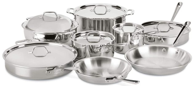 2nd 14-piece All Clad Cookware Review