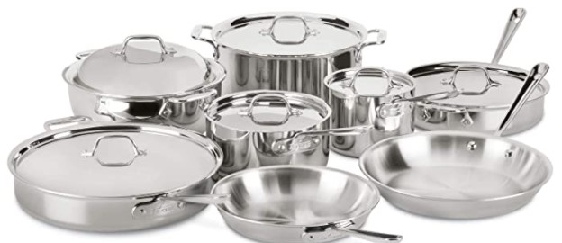 All-Clad Stainless Steel Best Cookware Brands
